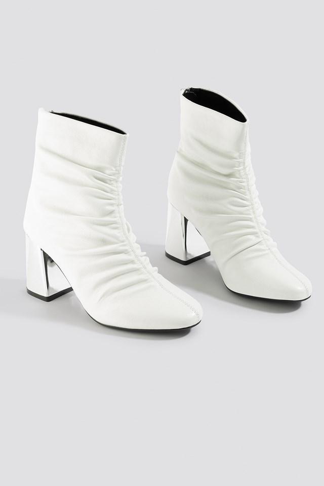 Gathered Mod Ankle Boot NA-KD.COM