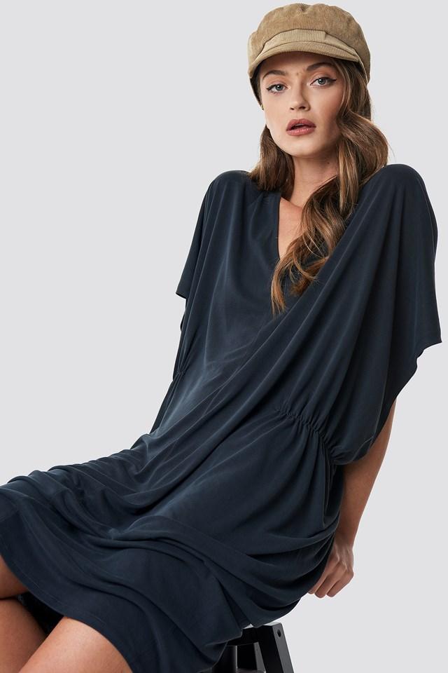 Gathering Detail Oversize Dress NA-KD.COM