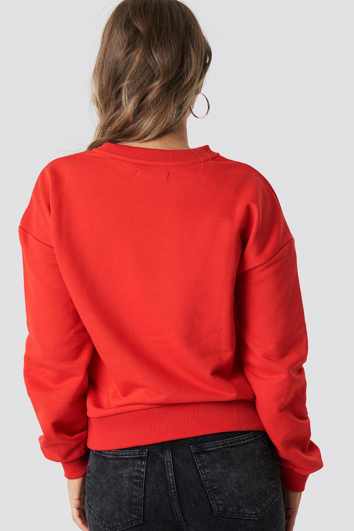 Generation XYZ Oversized Sweatshirt NA-KD.COM