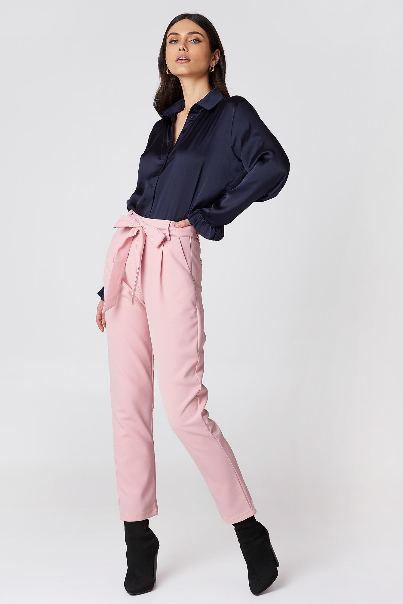 Culotte Belted Pants NA-KD.COM