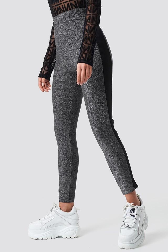 Glittery Leggings NA-KD.COM