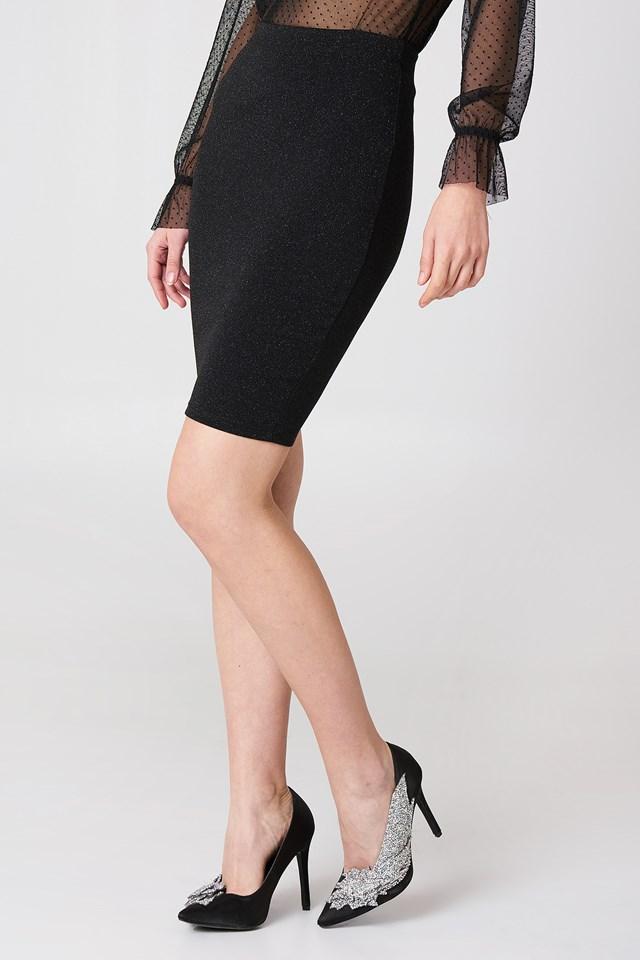 Glittery Skirt NA-KD.COM