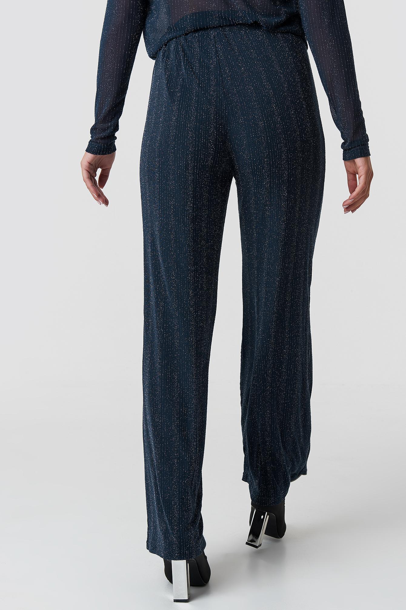 Glittery Wide Pants NA-KD.COM