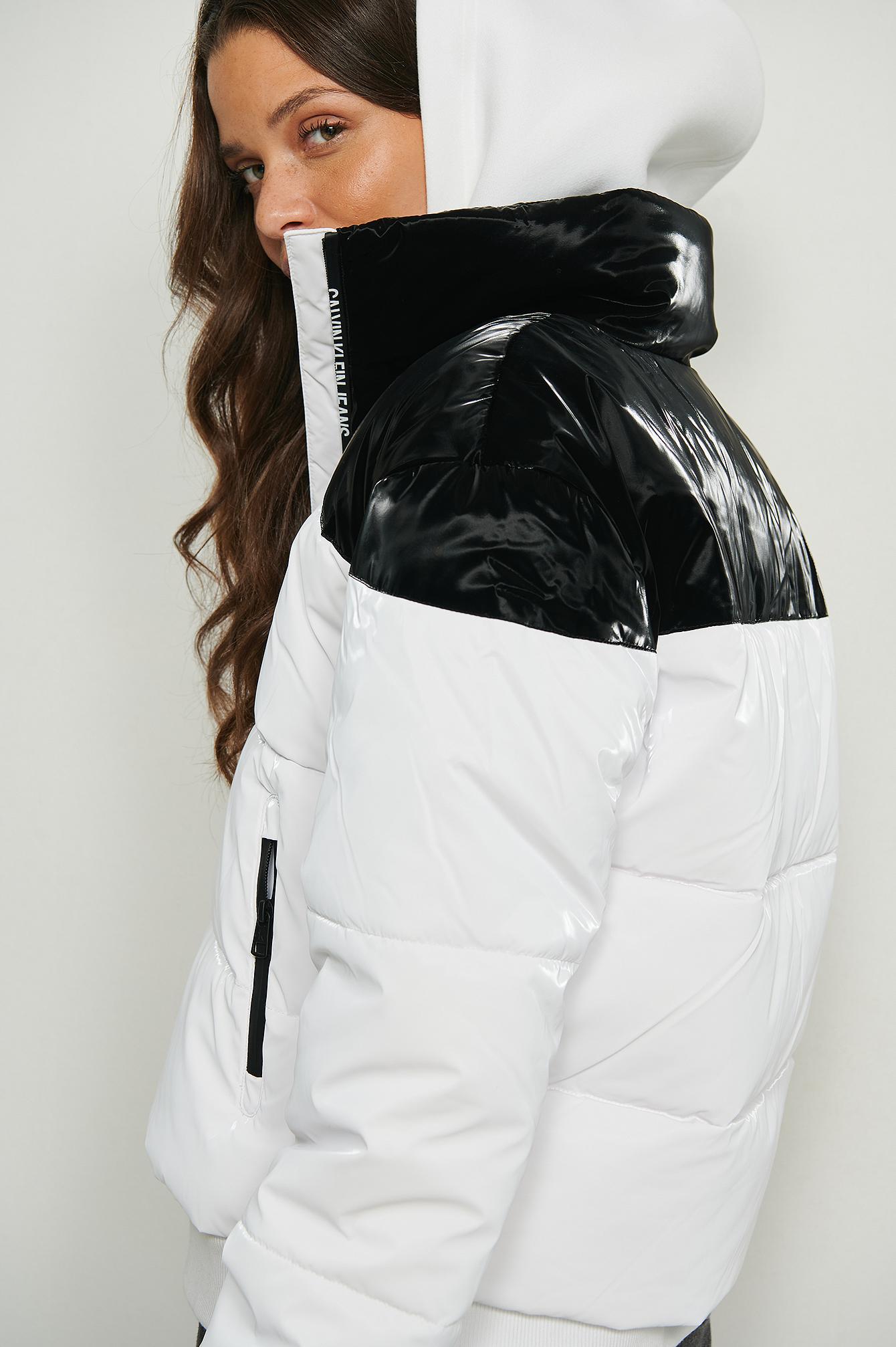 Calvin Klein Dunjakke - White