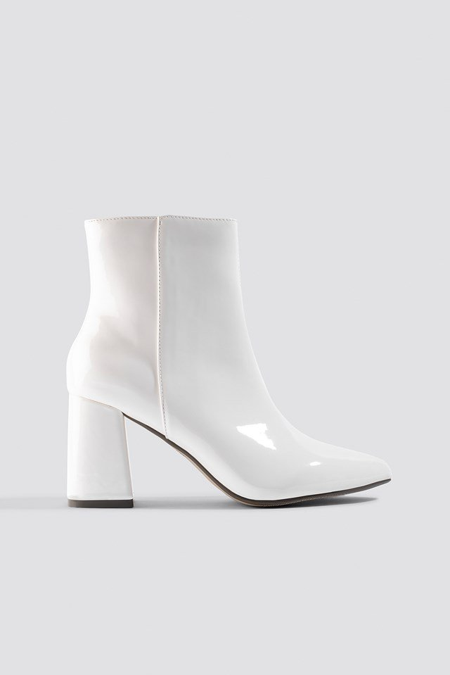 Glossy Patent Boots NA-KD Shoes
