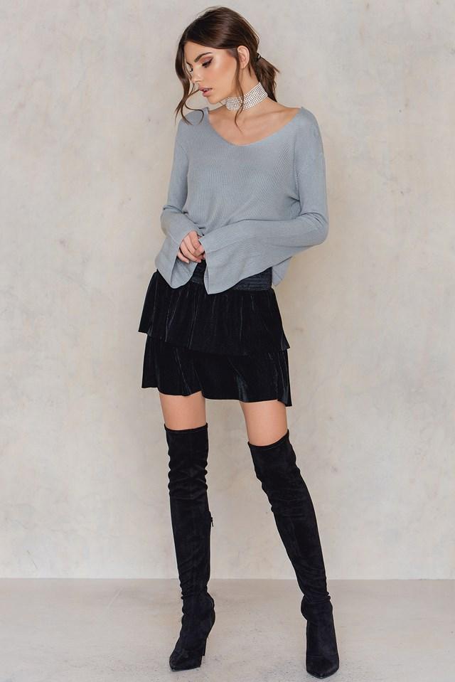 Goal Skirt Black