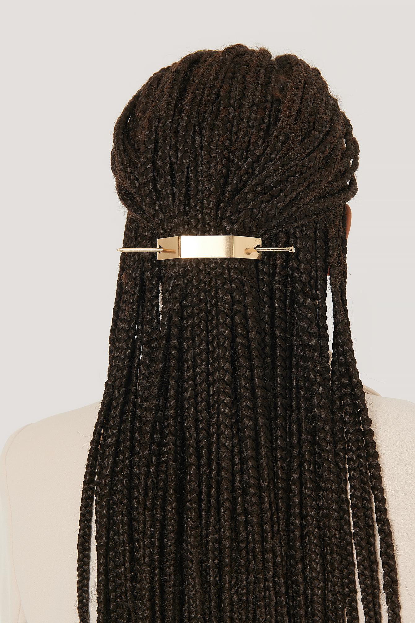 na-kd accessories -  Haarnadeldetail - Gold