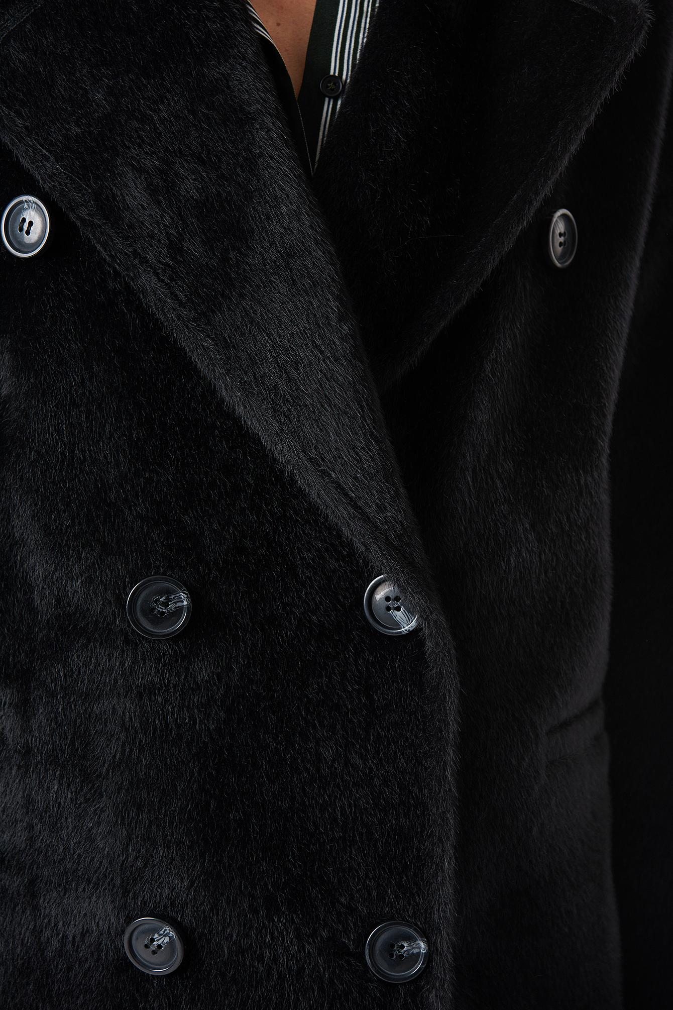 Hairy Double Breasted Coat NA-KD.COM