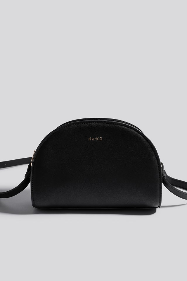 Half Moon Crossbody Bag Black