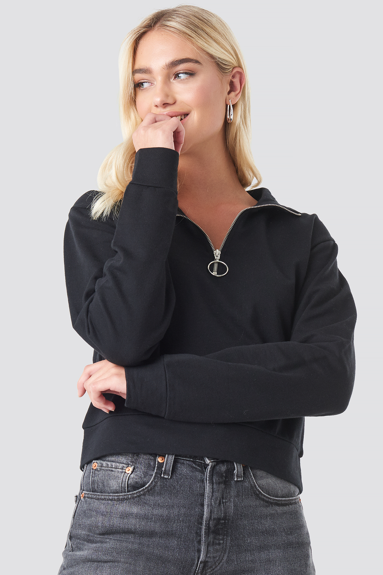 Half Zip Pullover NA-KD.COM