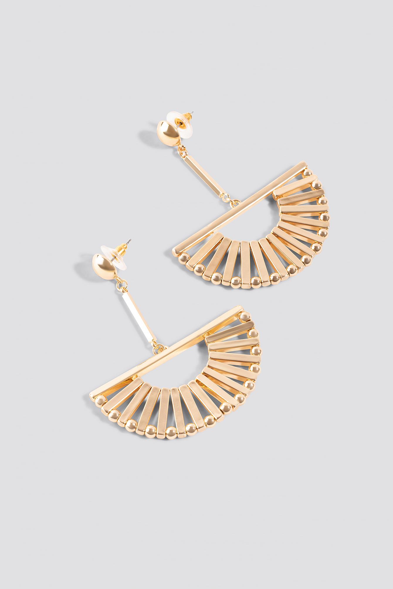 Halfmoon Bars Earrings NA-KD.COM