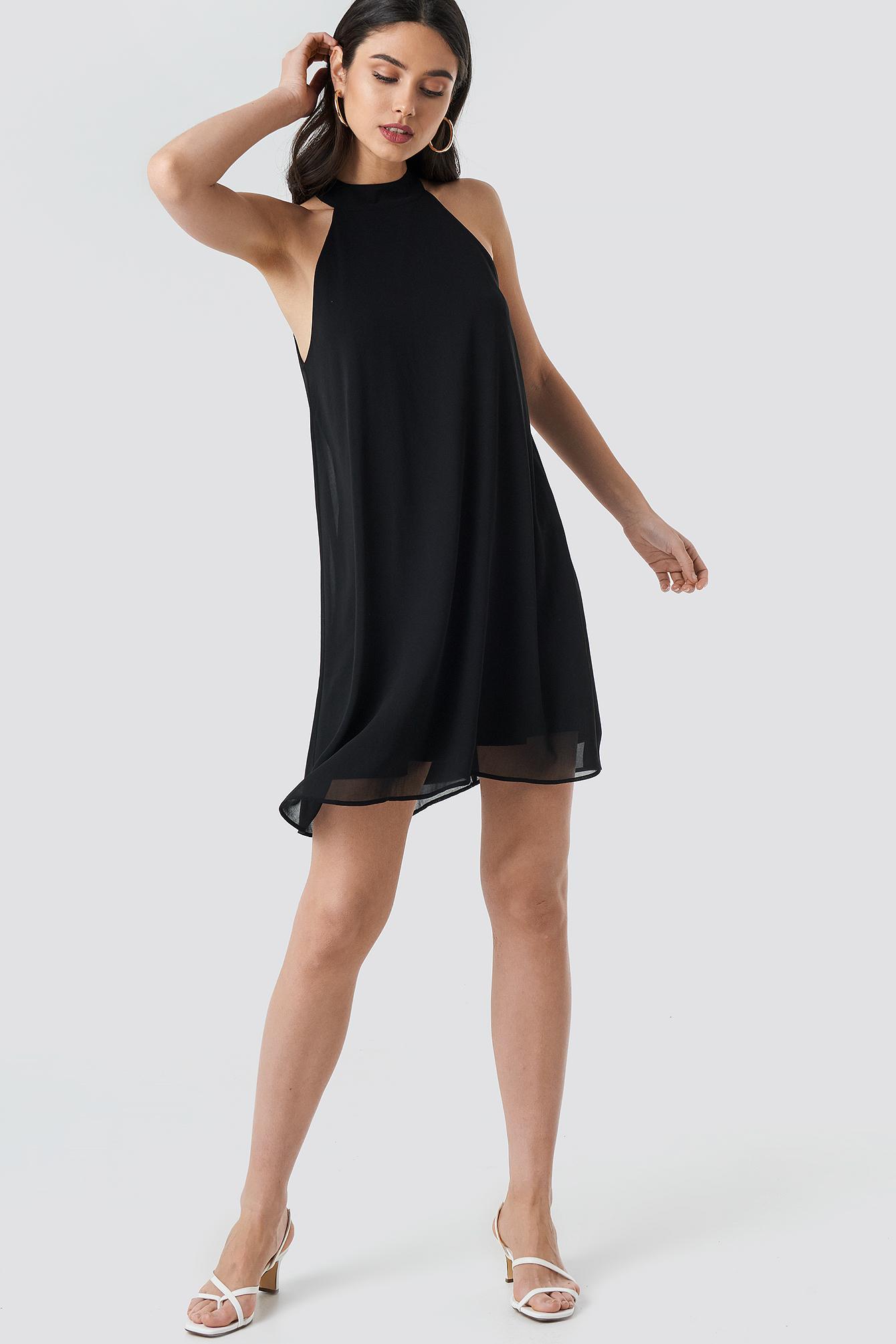 Halterneck Swing Dress NA-KD.COM