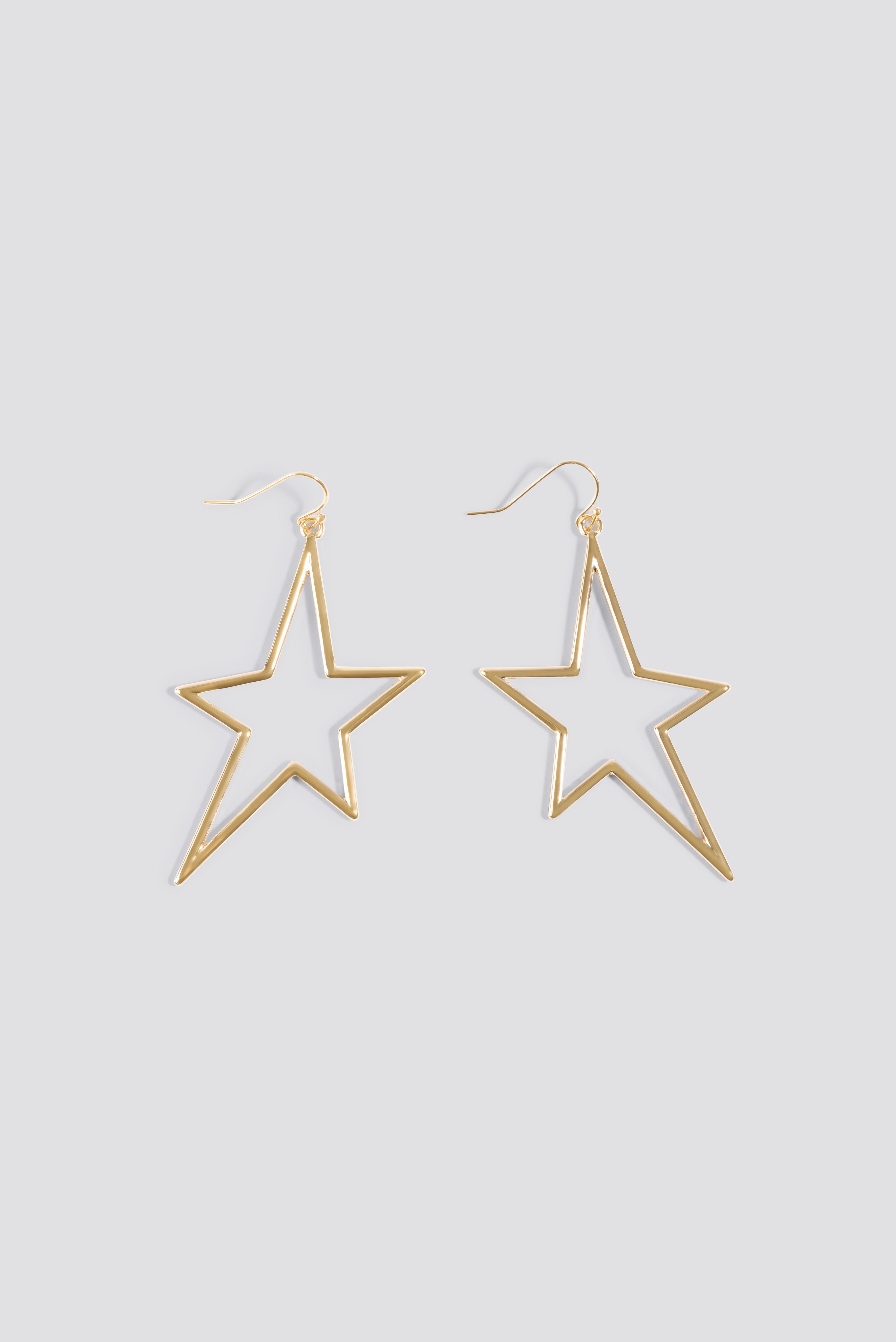 Hanging Star Earrings NA-KD.COM