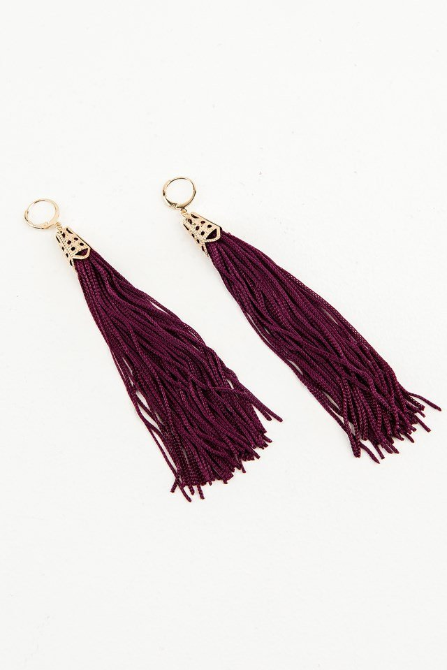 Hanging Tassels Earrings NA-KD.COM