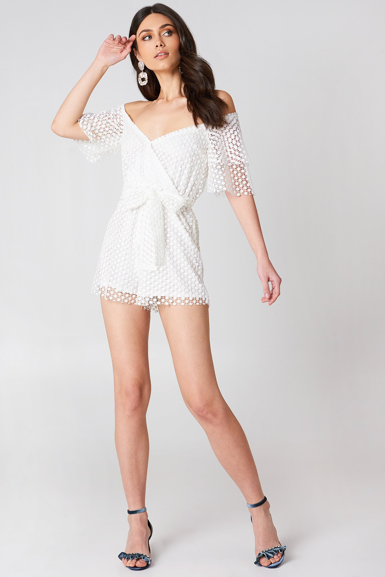 Crochet Playsuit NA-KD.COM