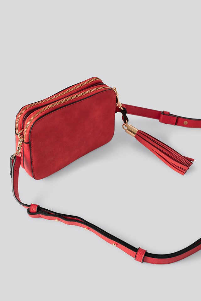 Heritage Crossbody Bag Red