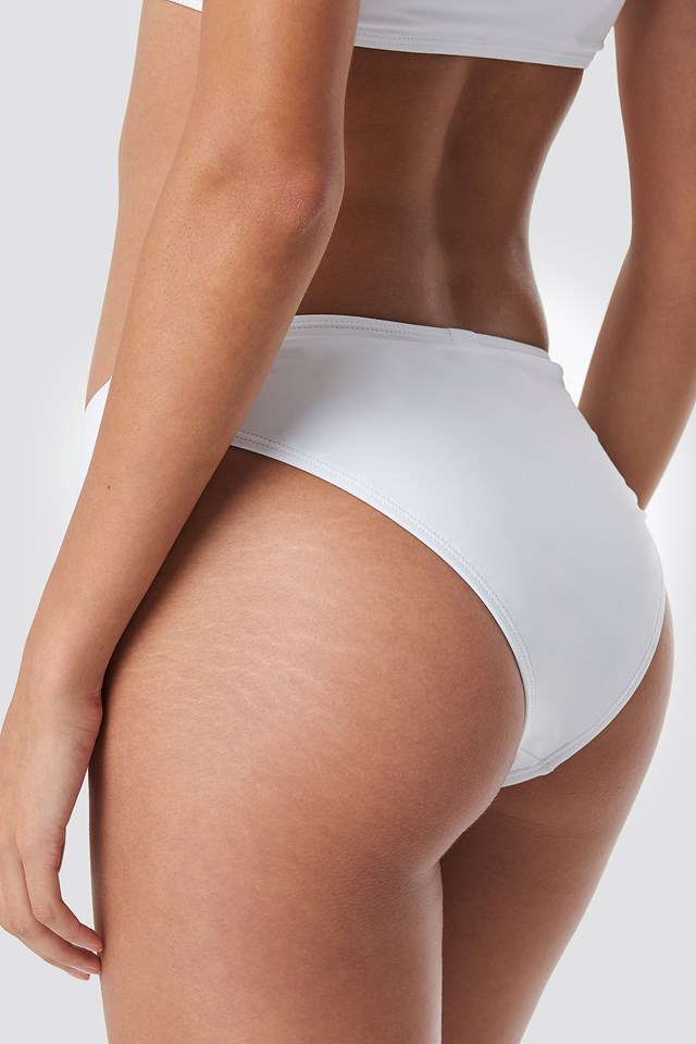 High Cut Bikini Panty White