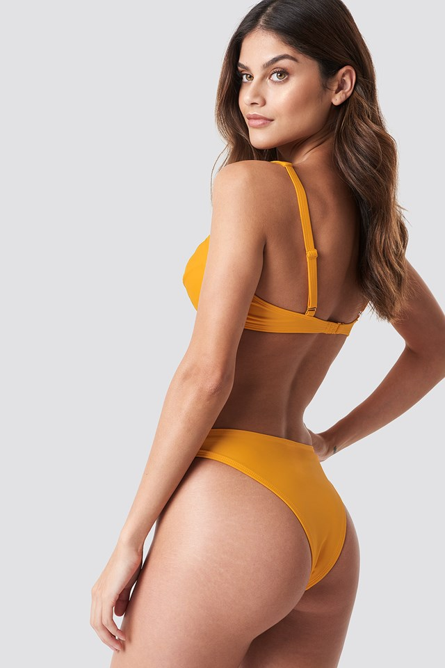 High Cut Bikini Panty Citrus
