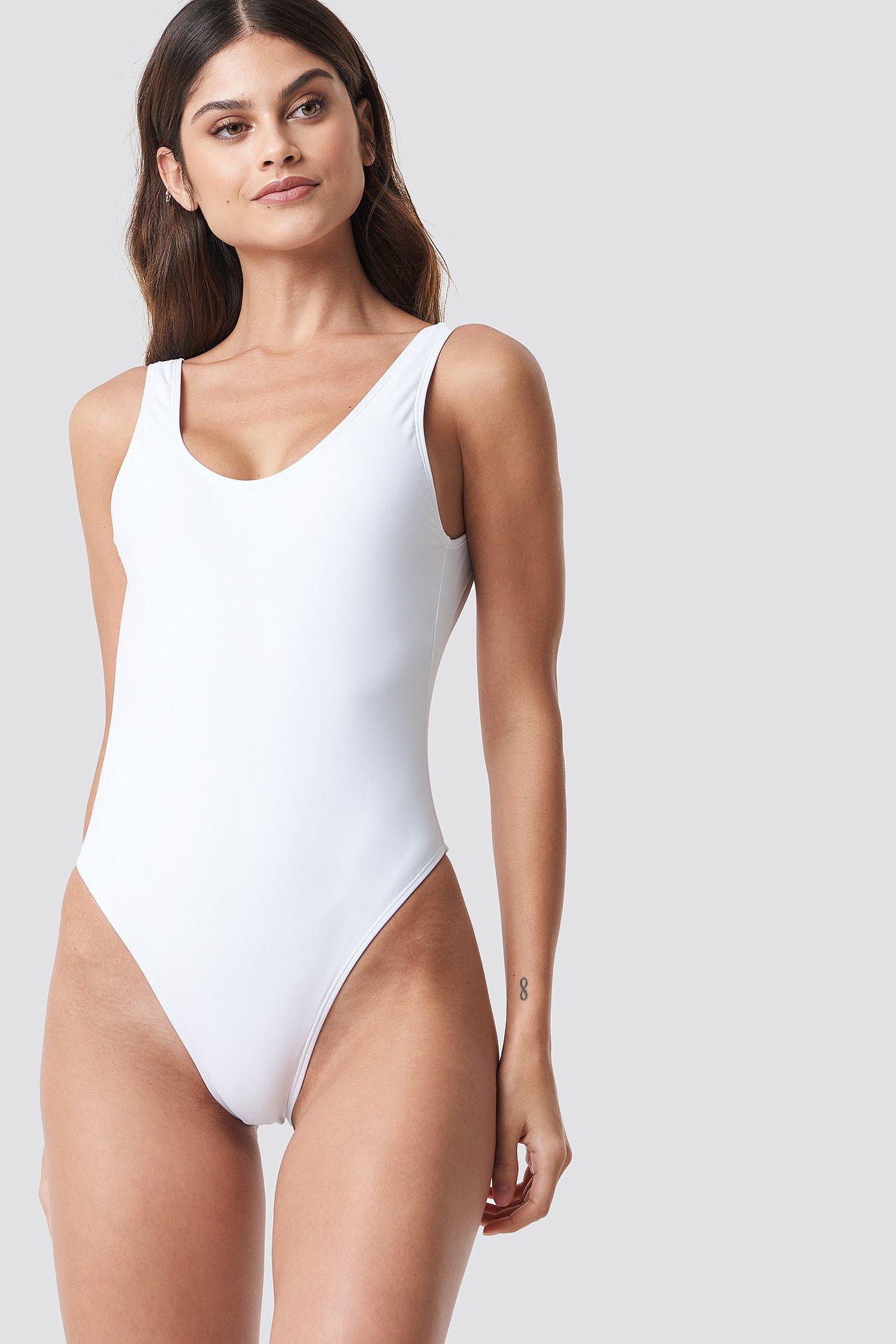 High Leg Swimsuit NA-KD.COM