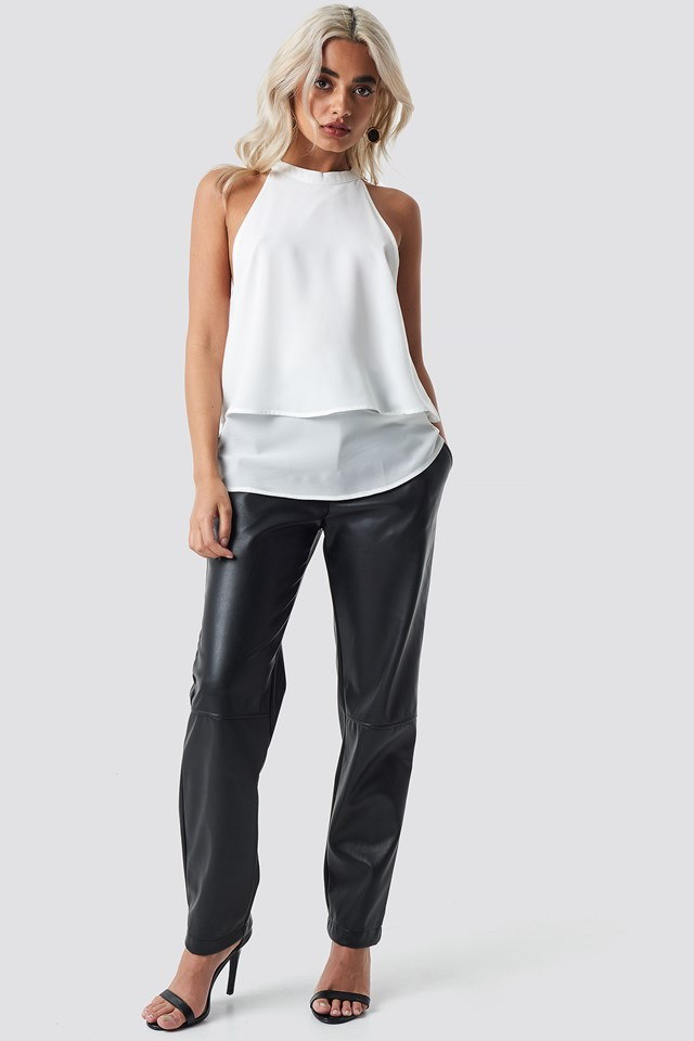 High Neck Layered Top NA-KD.COM