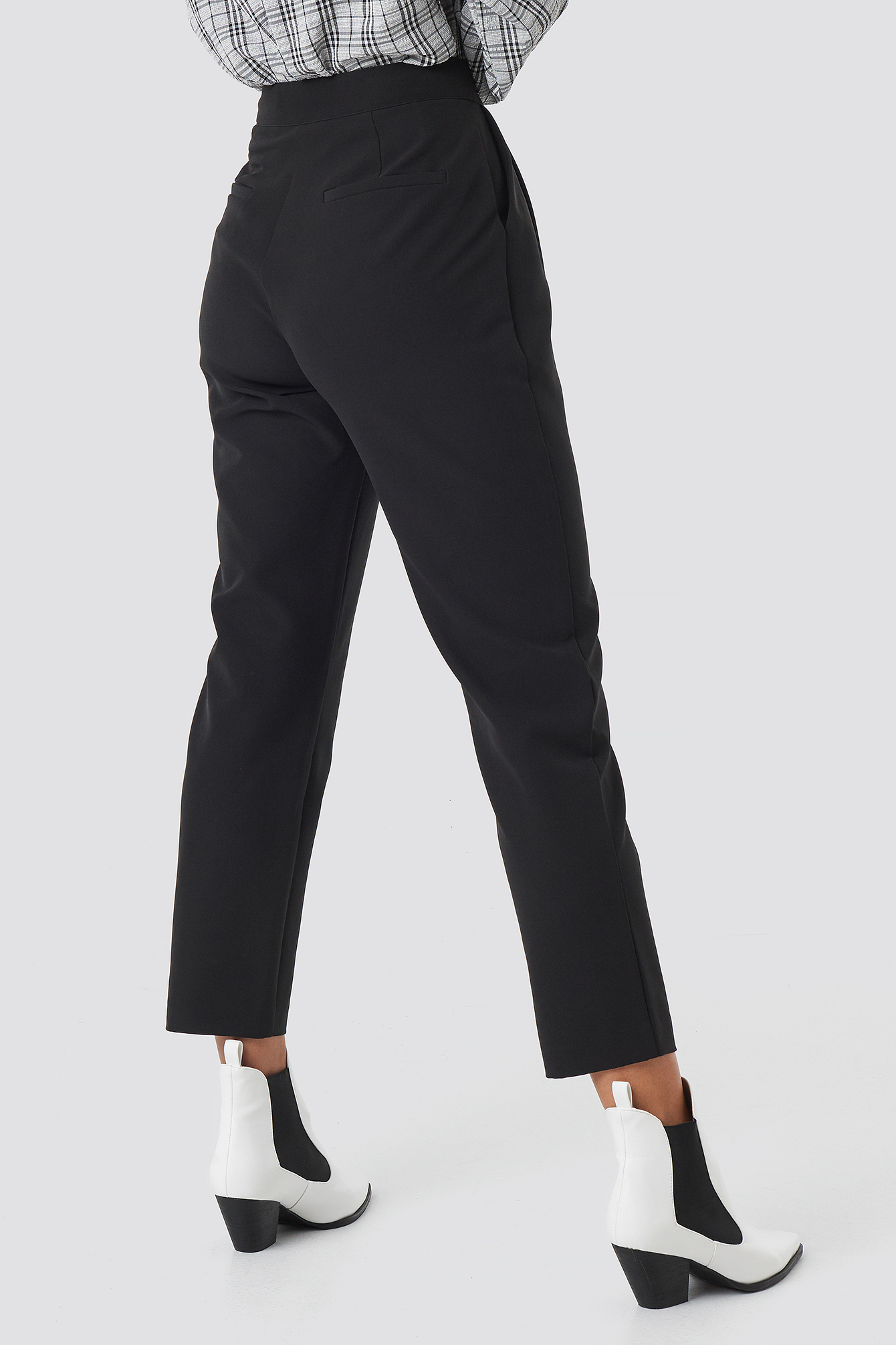 High Waist Cigarette Pants NA-KD.COM