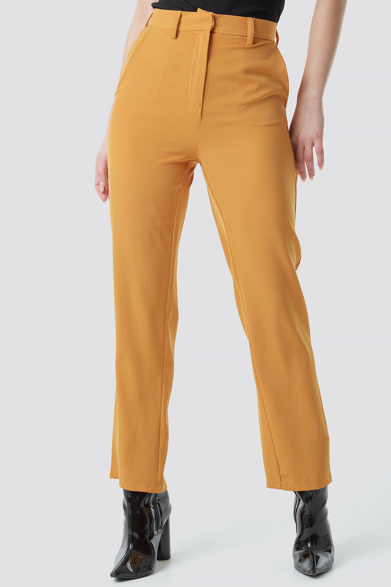 High Waist Suit Trousers NA-KD.COM