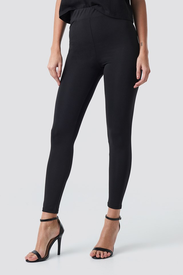 High Waist Leggings NA-KD.COM