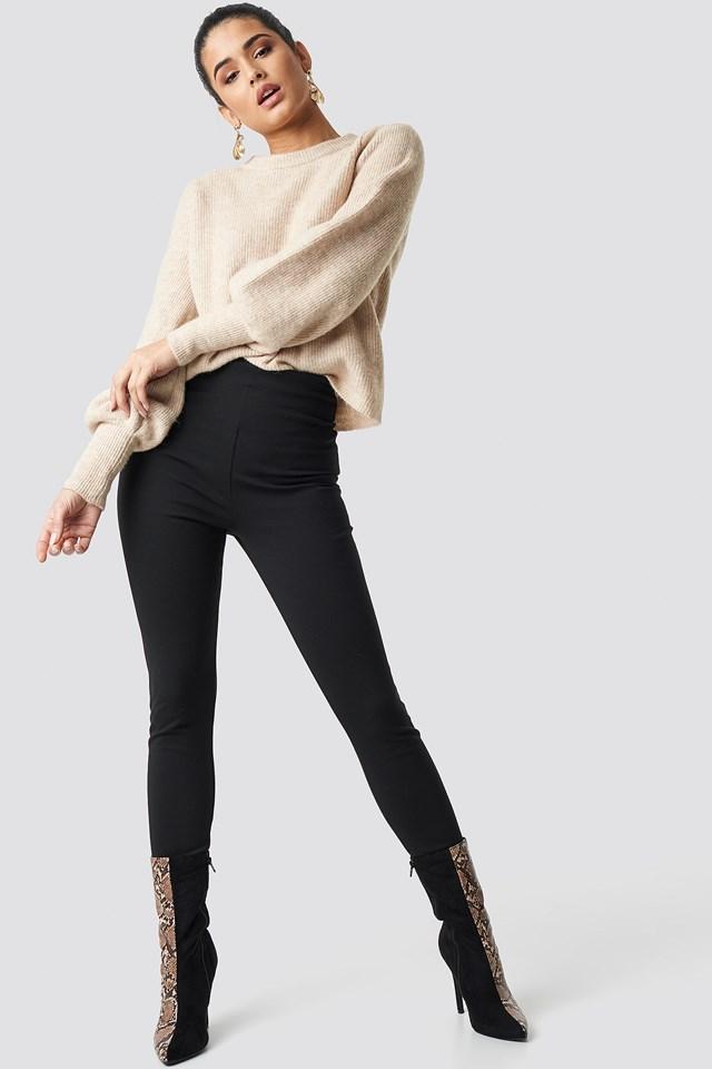 High Waist Leggings Black