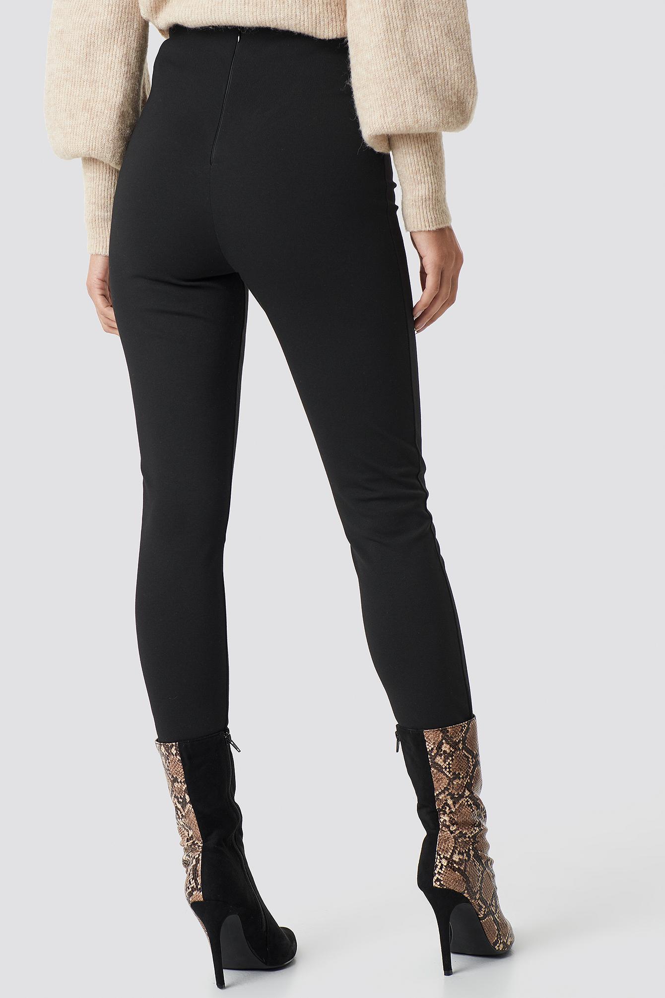 High Waist Leggings NA-KD.COM
