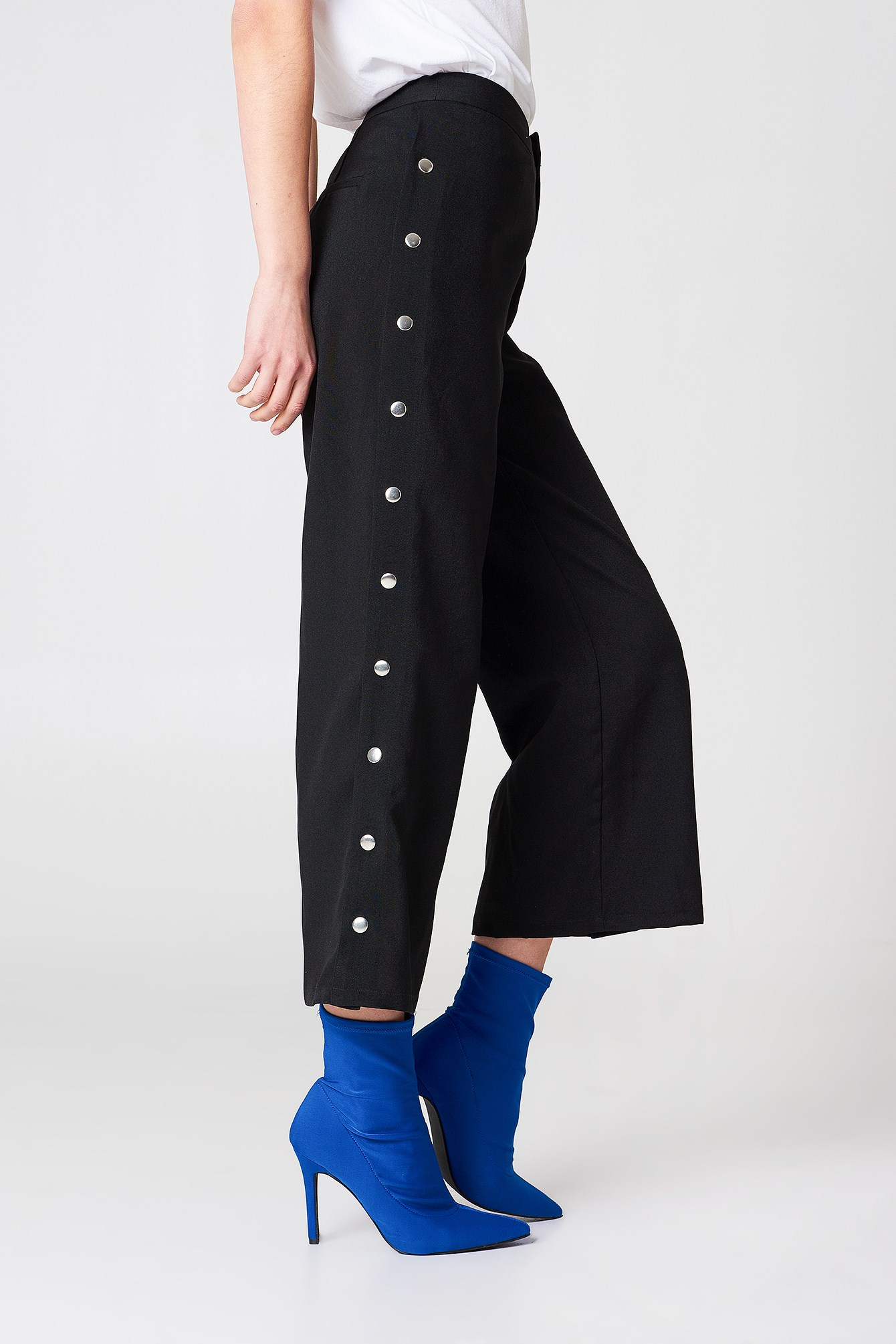 Highwaist Popper Pants NA-KD.COM