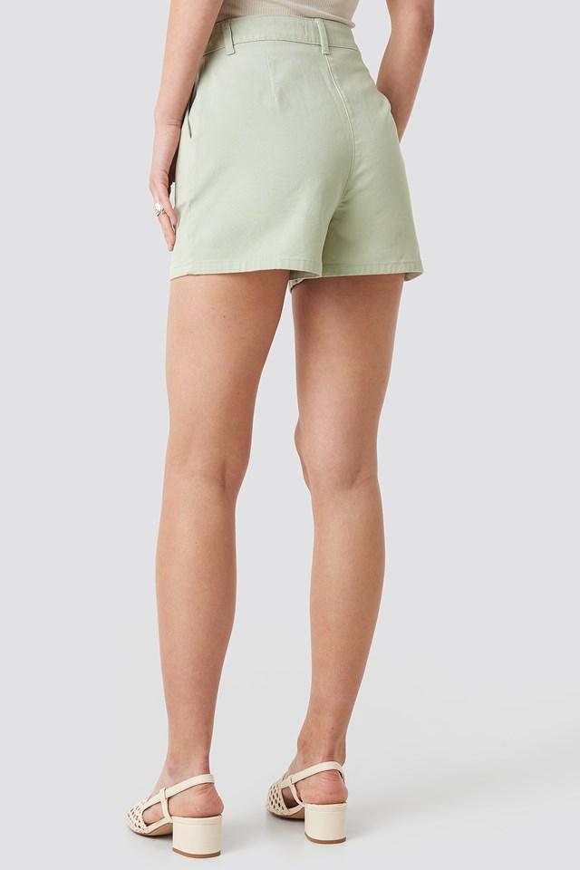 High Waist Shorts Mint