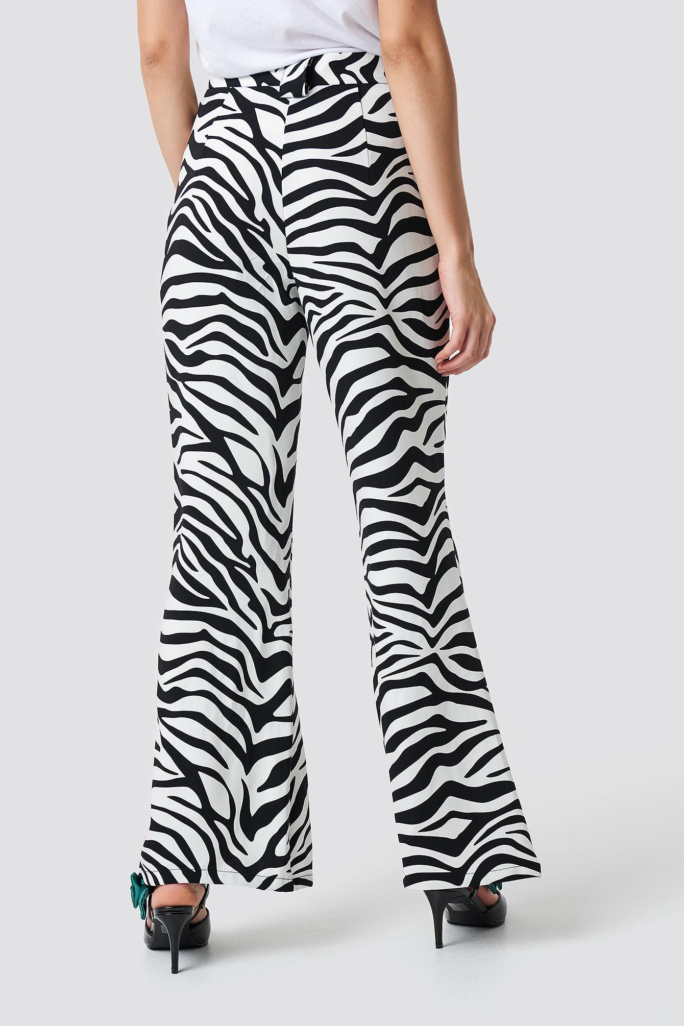 High Waisted Flared Suit Pants NA-KD.COM