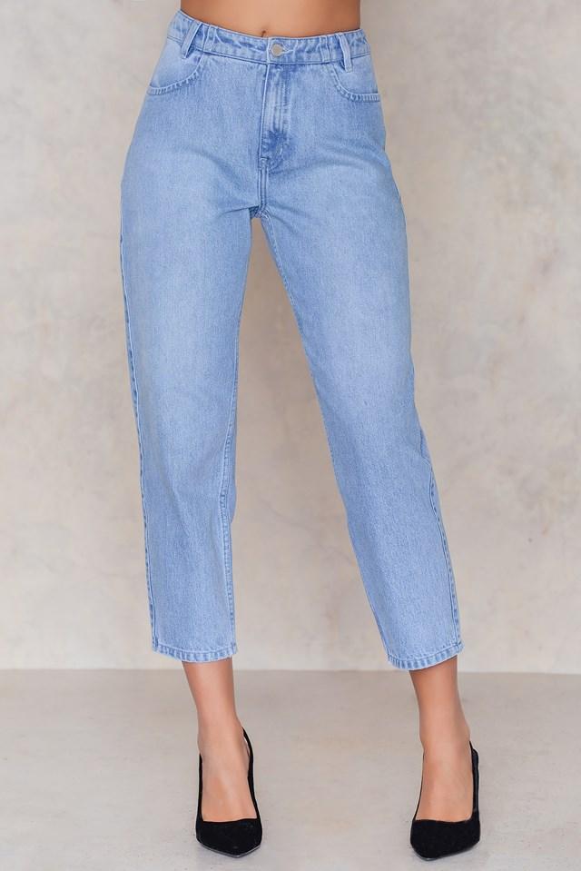 Highwaist Ankle Jeans Light Wash