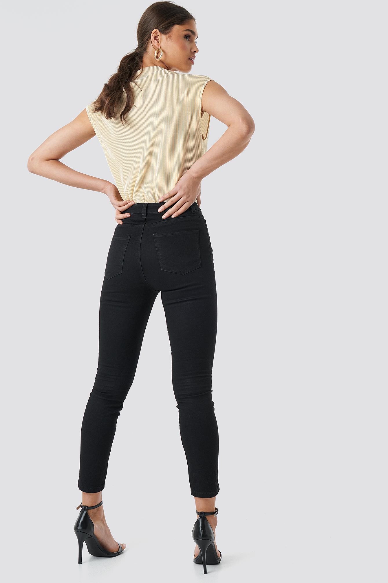 Highwaist Skinny Jeans NA-KD.COM