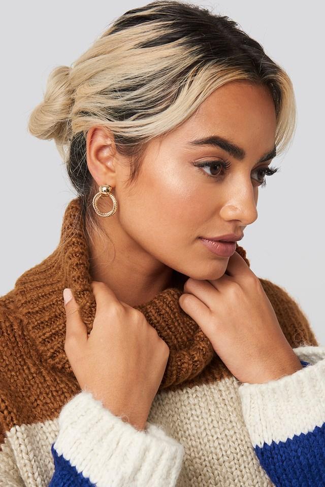 Hoop in Hoop Earrings NA-KD Accessories