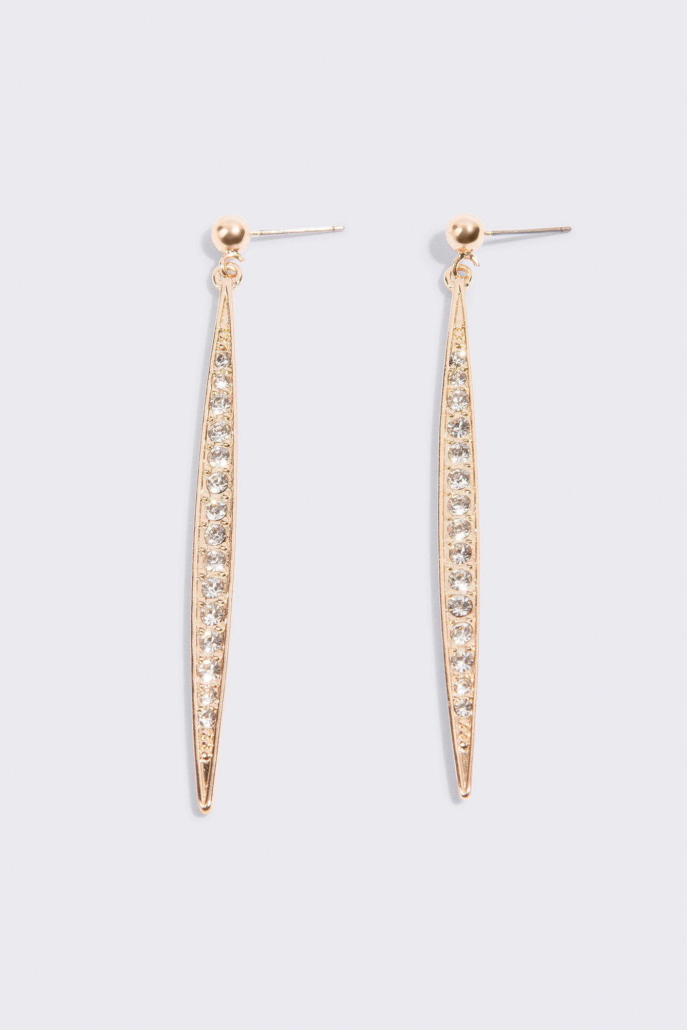 Icicle Shaped Drop Earrings NA-KD.COM