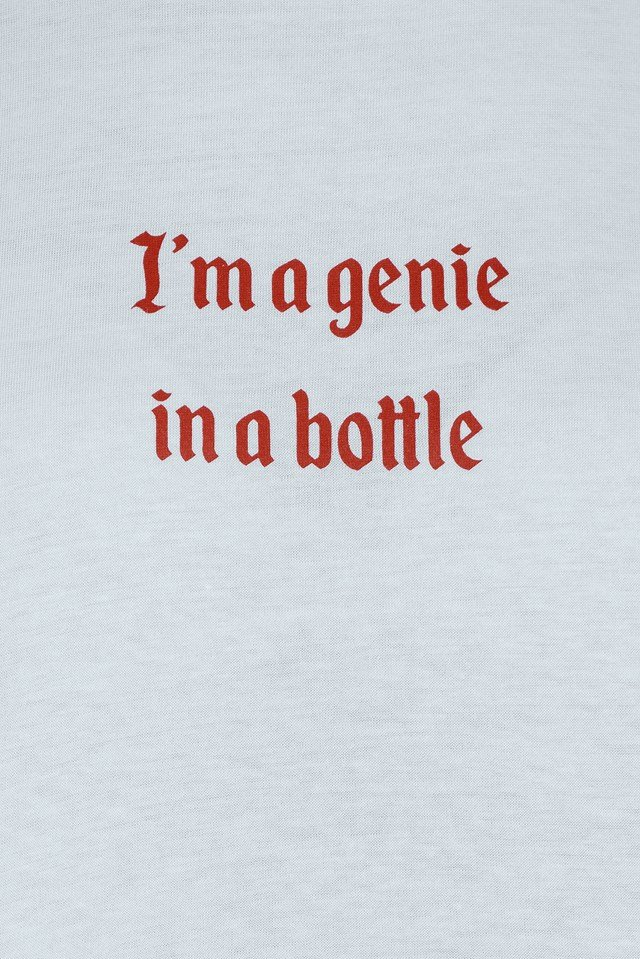 I'm A Genie In A Bottle Tee NA-KD.COM