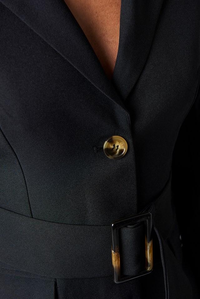 Wide Belted Blazer Dress NA-KD.COM