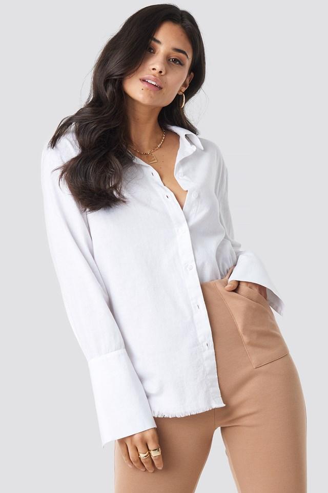 Sleeve Detail Shirt NA-KD.COM