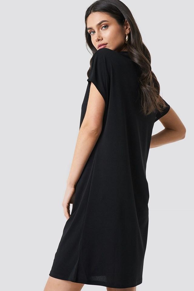 Jersey Cap Sleeve Dress NA-KD.COM