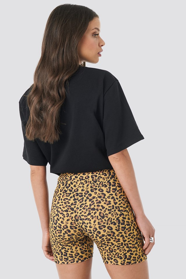 Jersey Leo Cycle Shorts Leoprint