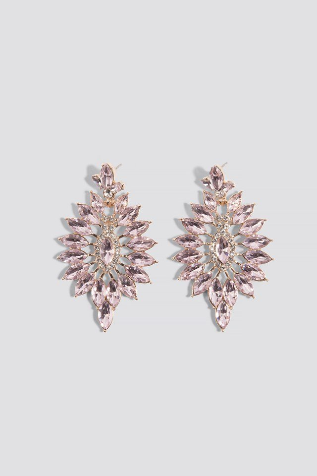 stud retro flower earring navya products pearl