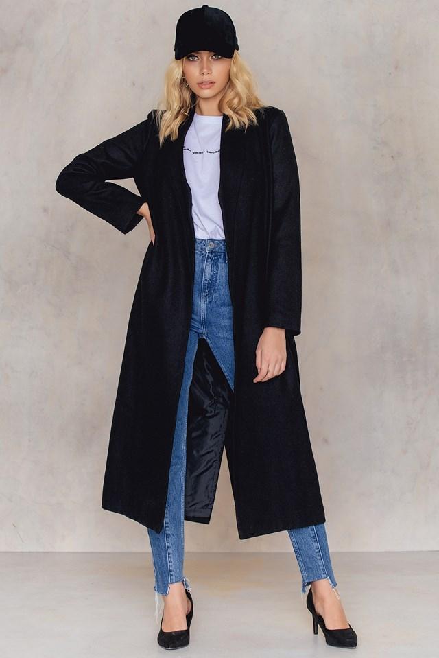 Kimono Collar Coat NA-KD.COM