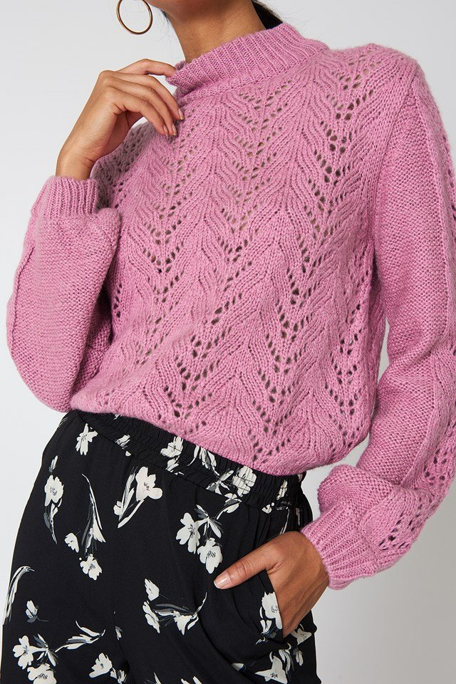 Knitwear Sweater Dusty Light Pink
