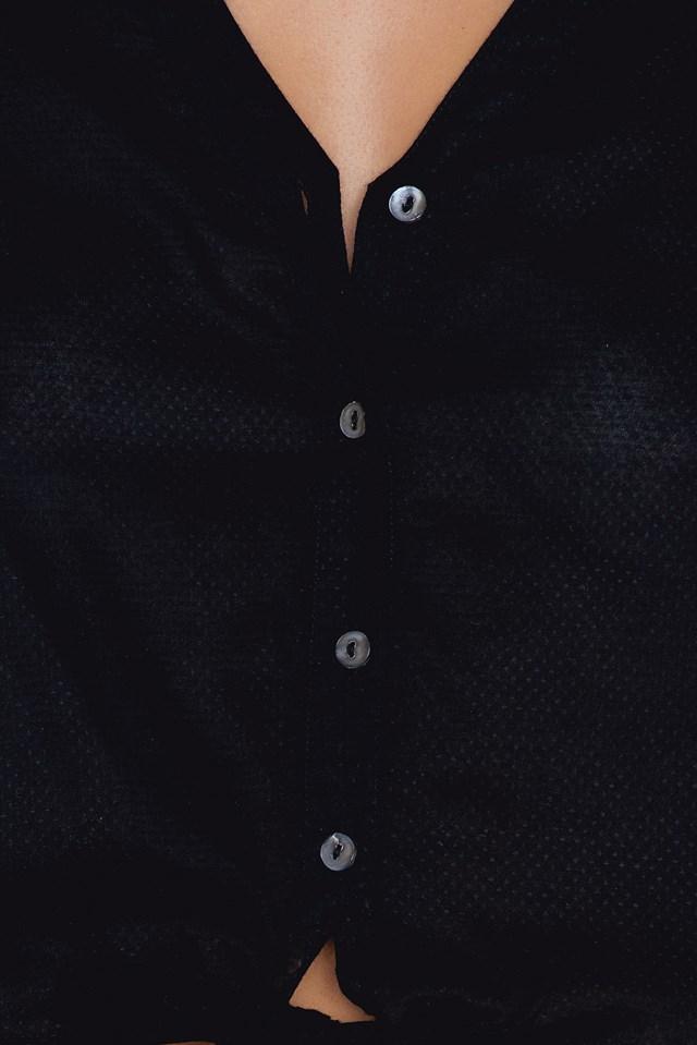 Koszula z wiązaniem NA-KD.COM