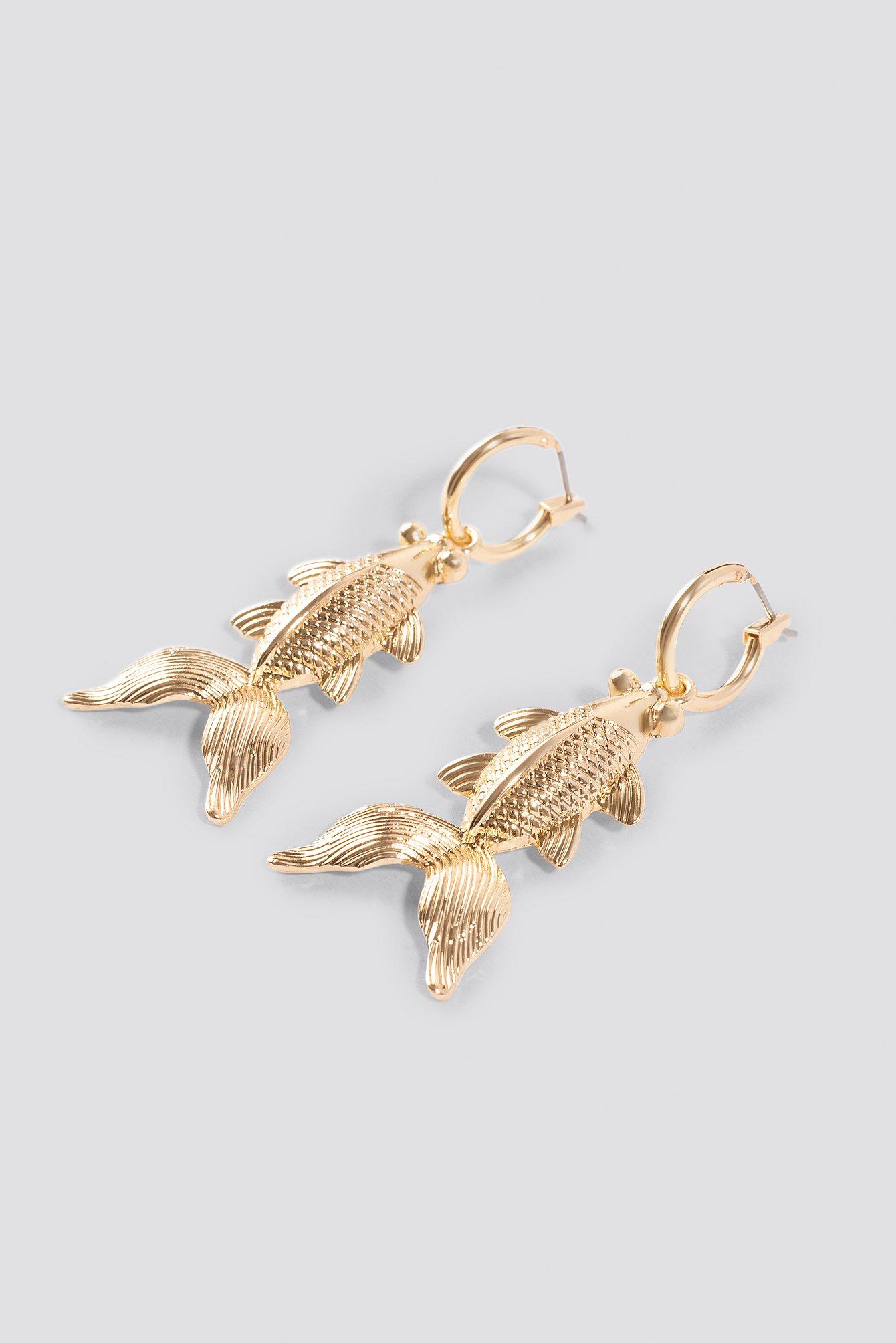 Koi Fish Earrings NA-KD.COM