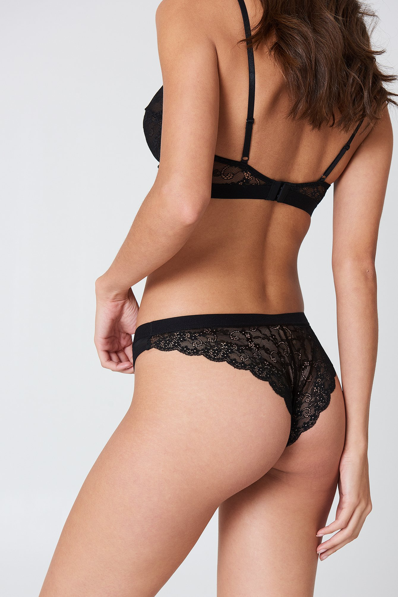 Black Lace Pantie