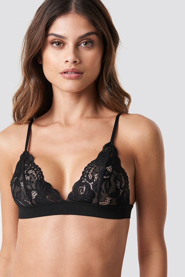 Lace Bra Black