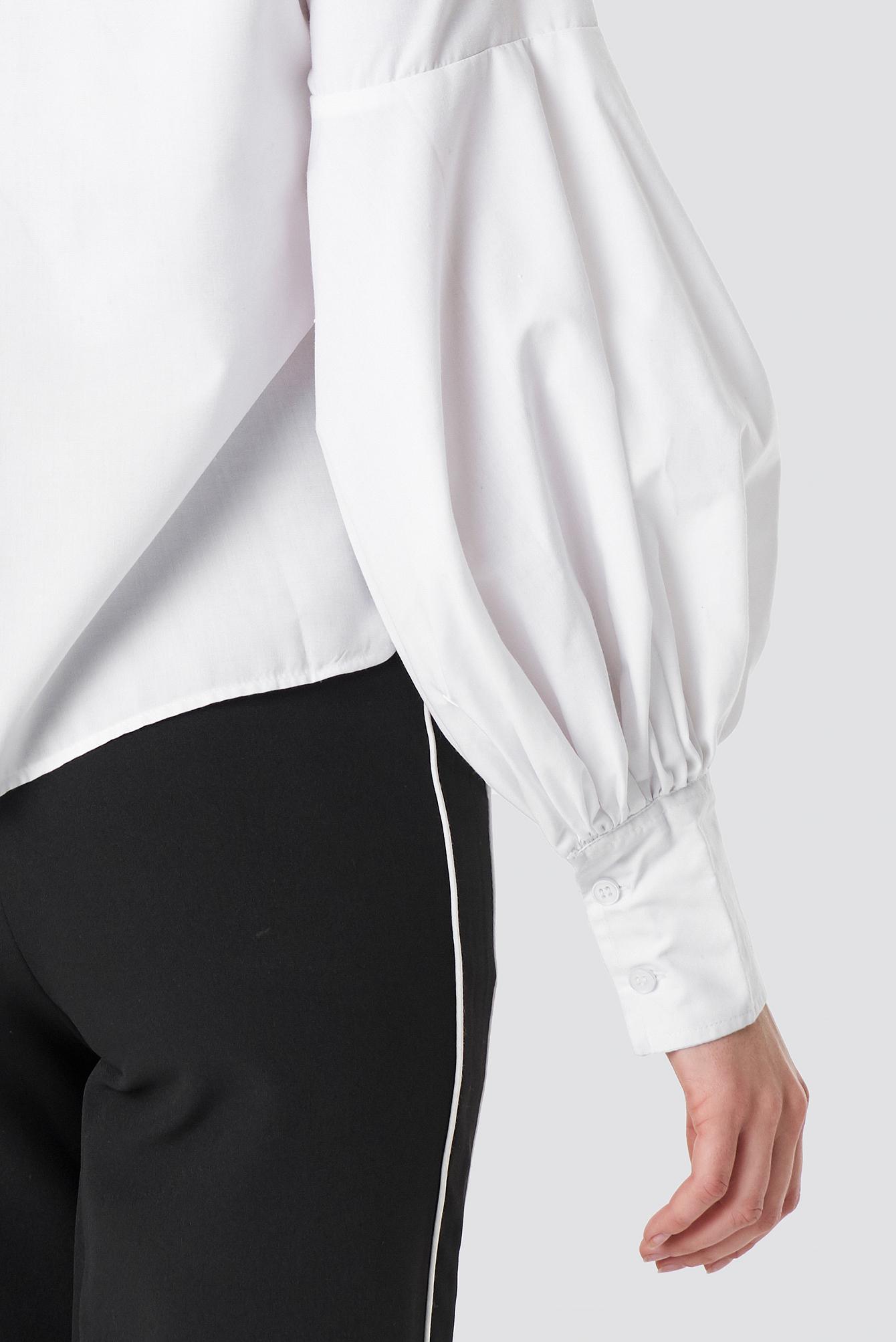 Large Cuff Wide Sleeve Shirt NA-KD.COM