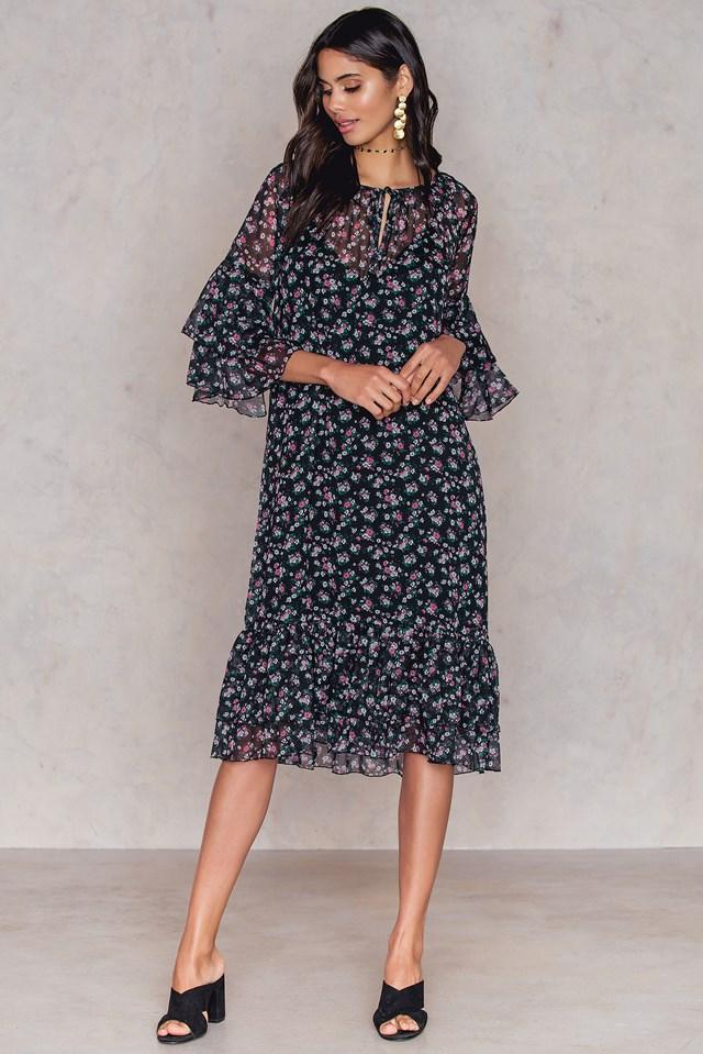 Layered Dress Print